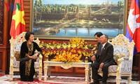 เสริมสร้างความสามัคคี ความสัมพันธ์มิตรภาพและความร่วมมือในทุกด้านเวียดนาม-กัมพูชา