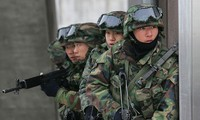 เปียงยางตำหนิการฝึกซ้อมป้องกันขีปนาวุธของสหรัฐ สาธารณรัฐเกาหลีและญี่ปุ่น