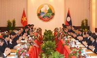 การเจรจาระหว่างนายกรัฐมนตรีเวียดนามกับลาว
