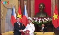 ความสัมพันธ์ระหว่างเวียดนามกับสาธารณรัฐเช็กได้รับการพัฒนาขึ้นสู่ขั้นสูงใหม่
