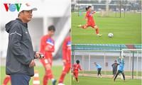 ทีมฟุตบอลเวียดนามพร้อมปะทะแข้งกับทีมชาติกัมพูชา