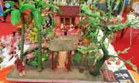 เอกลักษณ์ของหมู่บ้านศิลปาชีพทำตุ๊กตาต่อแฮซวนลา