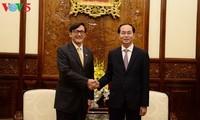 ประธานประเทศเวียดนามให้การต้อนรับเอกอัครราชทูตไทย