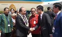 Beginn der Treffen zwischen Premierminister Nguyen Xuan Phuc und Spitzenpolitikern der ASEAN in Bali