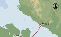 อินโดนีเซียและมาเลเซียจะเปิดเส้นทางขนส่งทางทะเล Dumai– มะละกา