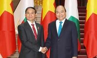 ผลักดันความสัมพันธ์ร่วมมือในทุกด้านและยั่งยืนระหว่างเวียดนามกับเมียนมาร์