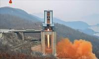 สื่อของสาธารณรัฐประชาธิปไตยประชาชนเกาหลีประชาสัมพันธ์การปล่อยดาวเทียมเพื่อเป้าหมายสันติภาพ