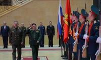 ผลักดันความร่วมมือด้านกลาโหมระหว่างเวียดนามกับรัสเซียเพื่อสันติภาพและเสถียรภาพในภูมิภาค