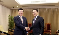 ผลักดันความร่วมมือระหว่างเวียดนามกับจีนและลาว
