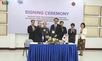 ญี่ปุ่นให้ความช่วยเหลือด้านการเงิน มูลค่า 3.9 ล้านดอลลาร์สหรัฐเพื่อแก้ไขปัญหาน้ำท่วมและภัยแล้งของแม่น้ำโขง