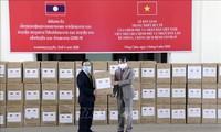 สถานประกอบการเวียดนามเดินพร้อมกับรัฐบาลและประชาชนลาวในการรับมือการแพร่ระบาดของโรคโควิด – 19