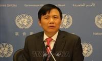 คณะมนตรีความมั่นคงแห่งสหประชาชาติประชุมเกี่ยวกับกิจกรรมการรักษาสันติภาพและสิทธิมนุษยชน