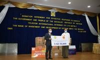 เวียดนามมอบเงินสนับสนุนการรับมือการแพร่ระบาดของโรคโควิด -19ให้แก่เมียนมาร์