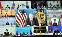 ปฏิบัติความคิดริเริ่มเกี่ยวกับความร่วมมือด้านการค้าขยายวงระหว่างอาเซียนกับสหรัฐ