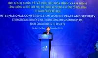 การประชุมระหว่างประเทศเกี่ยวกับสตรี สันติภาพและความมั่นคงอนุมัติคำมั่นปฏิบัติงานฮานอย