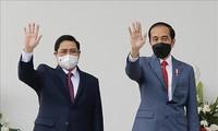 สื่อของอินโดนีเซียและกัมพูชารายงานข่าวเกี่ยวกับความสัมพันธ์ทวิภาคีอย่างใกล้ชิดกับเวียดนาม