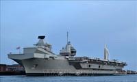 อังกฤษและสหรัฐให้คำมั่นที่จะค้ำประกันเสรีภาพในการเดินเรือในมหาสมุทรอินเดีย-แปซิฟิก