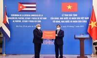 เวียดนาม-คิวบาร่วมมือในการถ่ายทอดเทคโนโลยีในการผลิตวัคซีนป้องกันโควิด -19