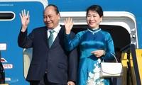 ประธานประเทศ เหงวียนซวนฟุกจะเดินทางไปเยือนสันถวไมตรีประเทศลาว