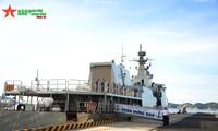 ทีมกองทัพเรือเวียดนามเสร็จสิ้นการปฏิบัติหน้าที่ในการแข่งขัน Army Games