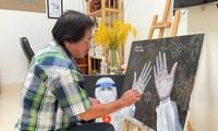 บรรดาศิลปินในเขตที่ราบที่ลุ่มแม่น้ำโขงให้กำลังใจกระบวนการสู้ภัยโควิด -19