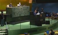ประธานประเทศกล่าวปราศรัยในการประชุมสมัชชาใหญ่สหประชาชาติ ร่วมมือเพื่อเอาชนะโควิด -19 โดยเร็ว