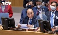 ประธานประเทศเวียดนามเสนอให้สหประชาชาติจัดทำฐานข้อมูลเกี่ยวกับผลกระทบจากปัญหาน้ำทะเลหนุน