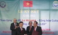 Vietnam to present Led lamps to Havana