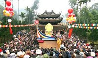 New Year festivals bustle