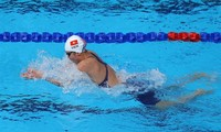 Swimmer Nguyen Thi Anh Vien voted Best Athlete of 2017
