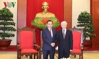 Vietnamese, Lao fronts urged to increase ties