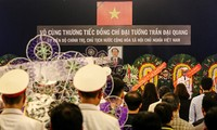 Foreign media cover President Tran Dai Quang's funeral
