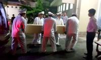 3 dead Vietnamese victims of Egypt bomb attack repatriated home