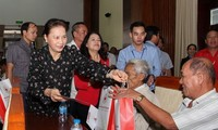 Party, State leaders pay pre-Tet visits to localities