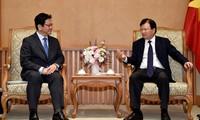 Deputy PM receives JBIC leader