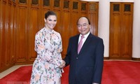 Government leader hosts Swedish Crown Princess