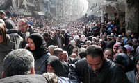 UN calls for international efforts to address Syria's humanitarian crisis