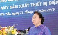 NA Chairwoman visits Hoa Lac high-tech park