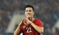 FIFA praises Vietnamese striker Nguyen Tien Linh
