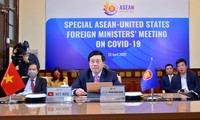 ASEAN, US enhance cooperation in fighting COVID-19