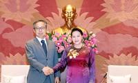 Top legislator receives Japanese ambassador