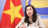 Vietnam opposes China's illegal military drills in Hoang Sa