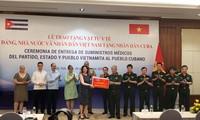 Vietnam presents medical aids to Cuba