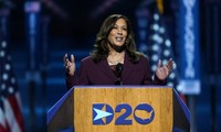 Kamala Harris delivers historic remarks in accepting Vice President nomination