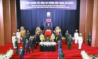 Ceremony held to pay last respect to former Deputy PM Truong Vinh Trong
