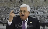 Palestinian President calls for int'l Mideast peace track to end Israeli occupation