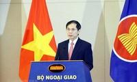 Flag salute ceremony celebrates ASEAN's 54th founding anniversary in Hanoi