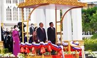 President's visit fosters Vietnam-Lao great friendship
