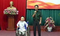 AO victims overcome difficulties to contribute to community