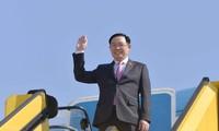 Top legislator's trip conveys strong message about Vietnam's parliamentary diplomacy 